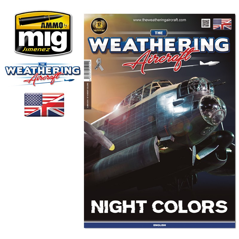 Ammo Mig The Weathering Aircraft Issue 14: Night Colors (English)