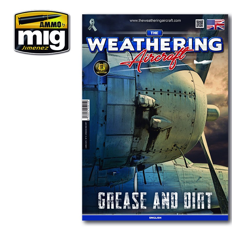 Ammo Mig The Weathering Aircraft Issue 15: Grease and Dirt (English)