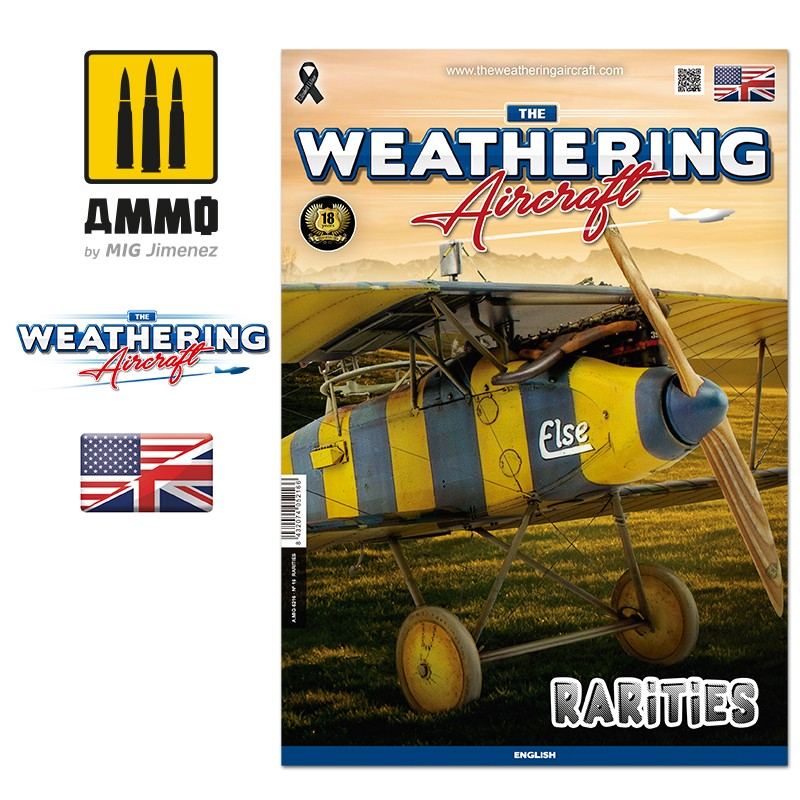 Ammo Mig The Weathering Aircraft Issue 16: Rarities (English)