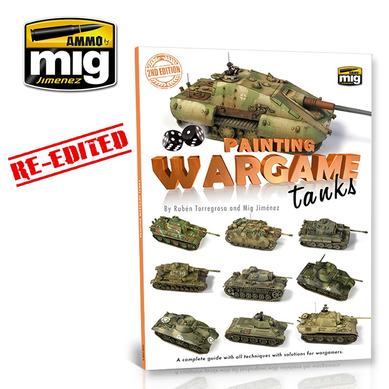 Ammo Mig Painting Wargame Tanks Guide (English)