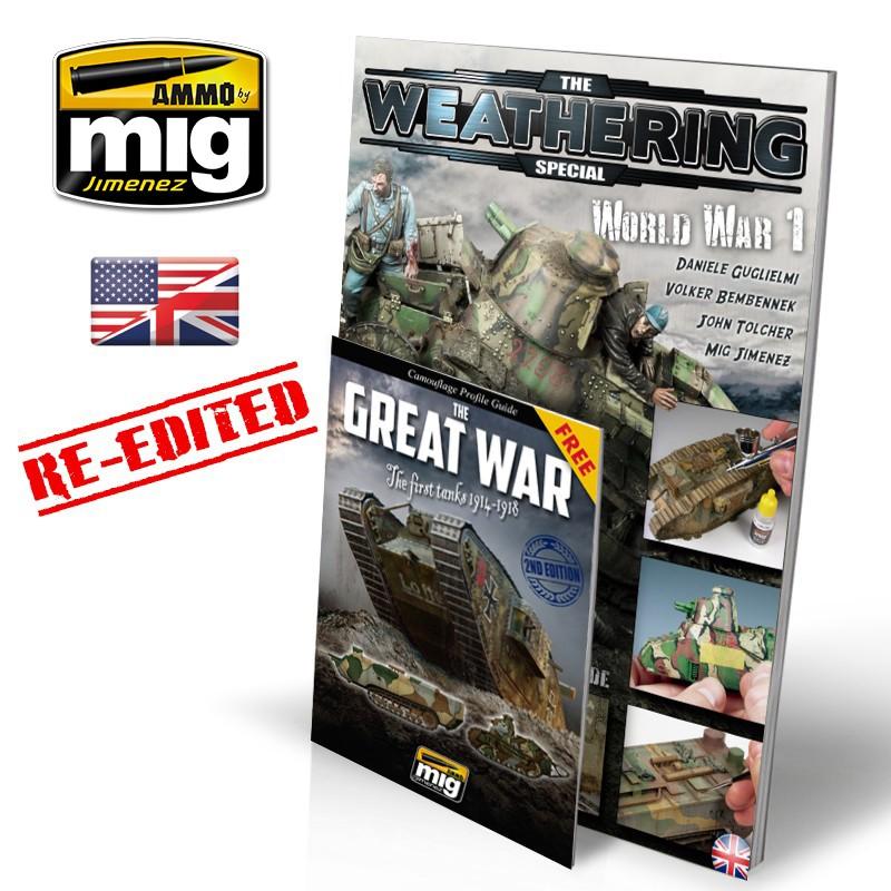 Ammo Mig The Weathering Magazine - Special - WWI (English)