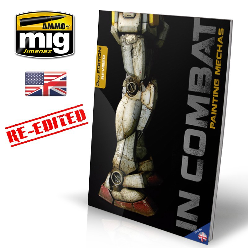 Ammo Mig In Combat 1 - Painting Mechas (English)