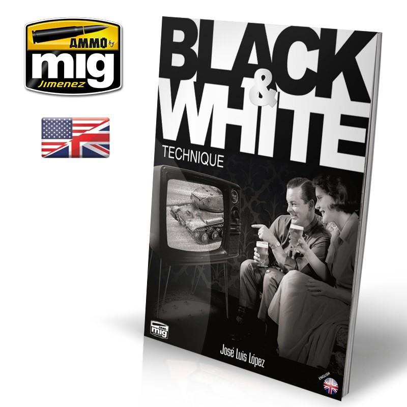 Ammo Mig Black & White Technique Guide (English)