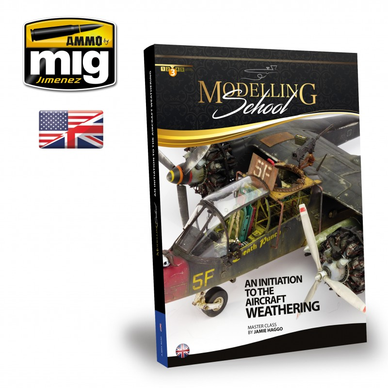 Ammo Mig Modelling School: An Initiation To Aircraft Weathering (English)