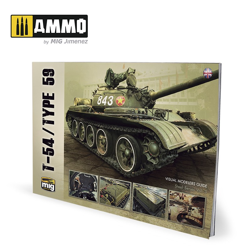 Ammo Mig T-54/Type 59 - Visual Modelers Guide (English)