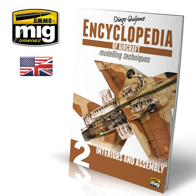 Ammo Mig Encyclopedia of Aircraft Modelling Techniques - Vol. 2: Interiors & Assembly (English)