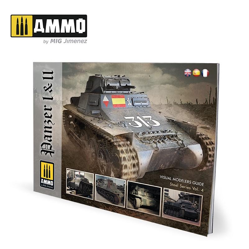 Ammo Mig Panzer I & II (English, Spanish & French)