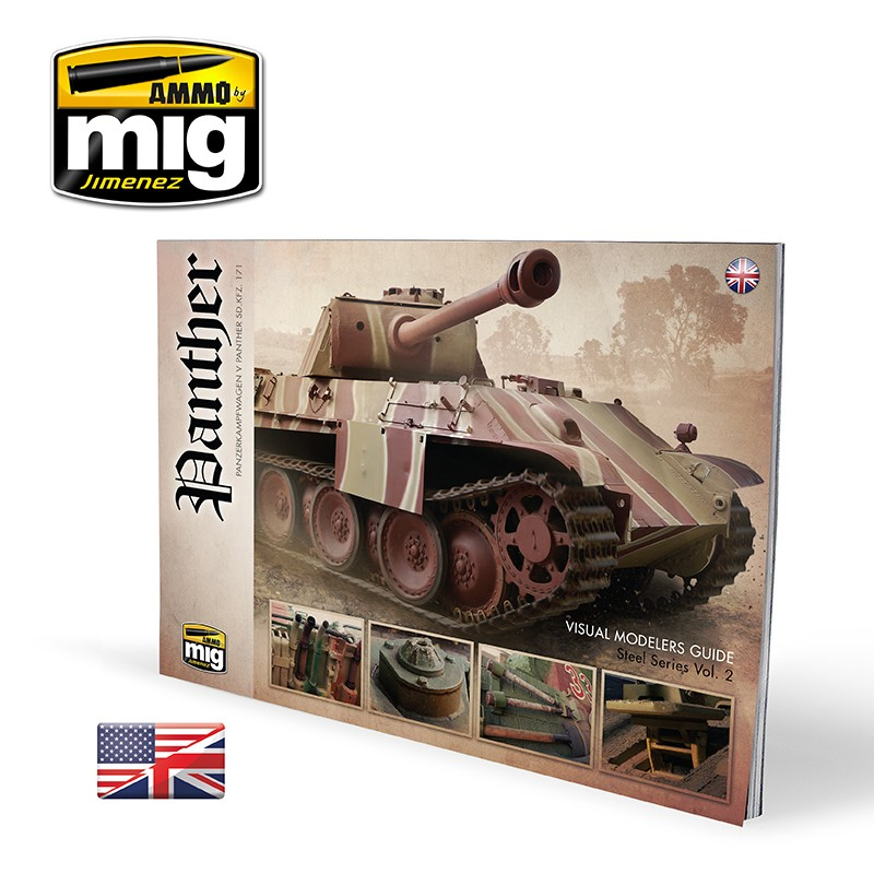 Ammo Mig Panther - Visual Modelers Guide (English)