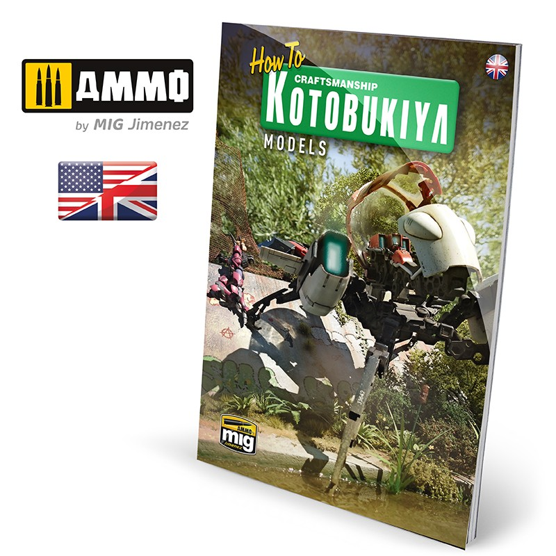 Ammo Mig How to: Kotobukiya Models (English)