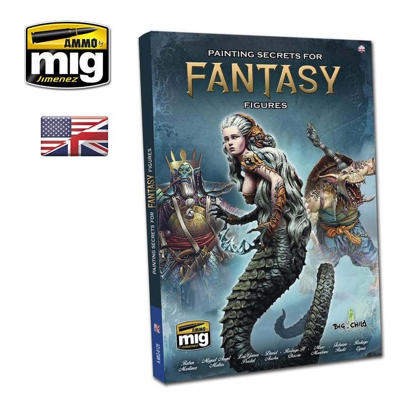 Ammo Mig Paiting Secrets for Fantasy Figures (English)