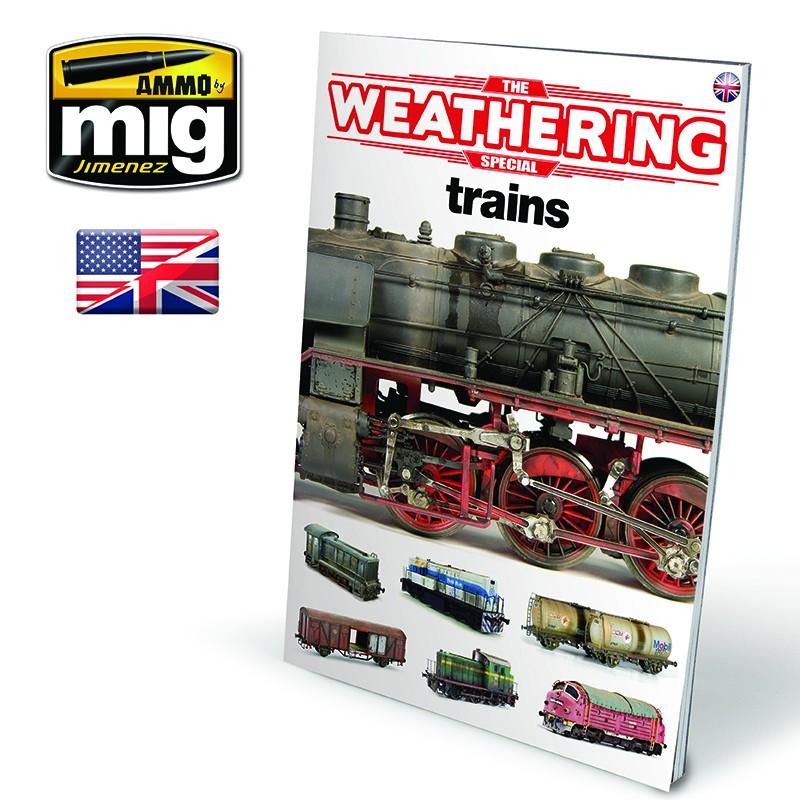 Ammo Mig The Weathering Magazine - Special - Trains (English)