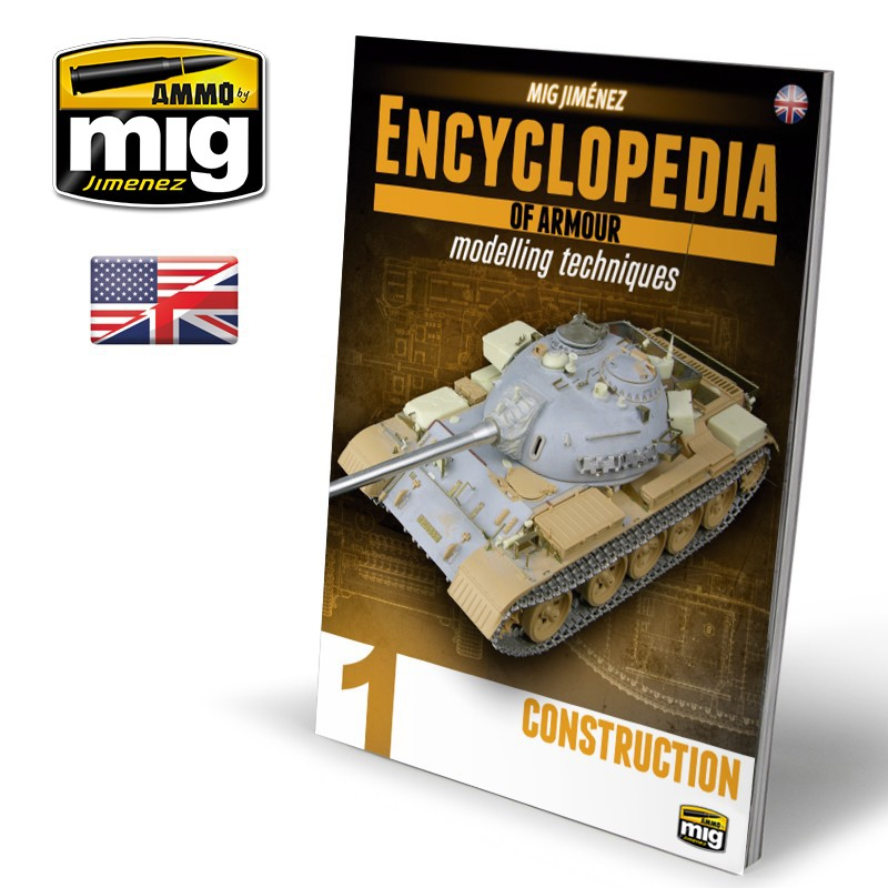 Ammo Mig Encyclopedia of Armour Modelling Techniques - Vol. 1: Construction (English)