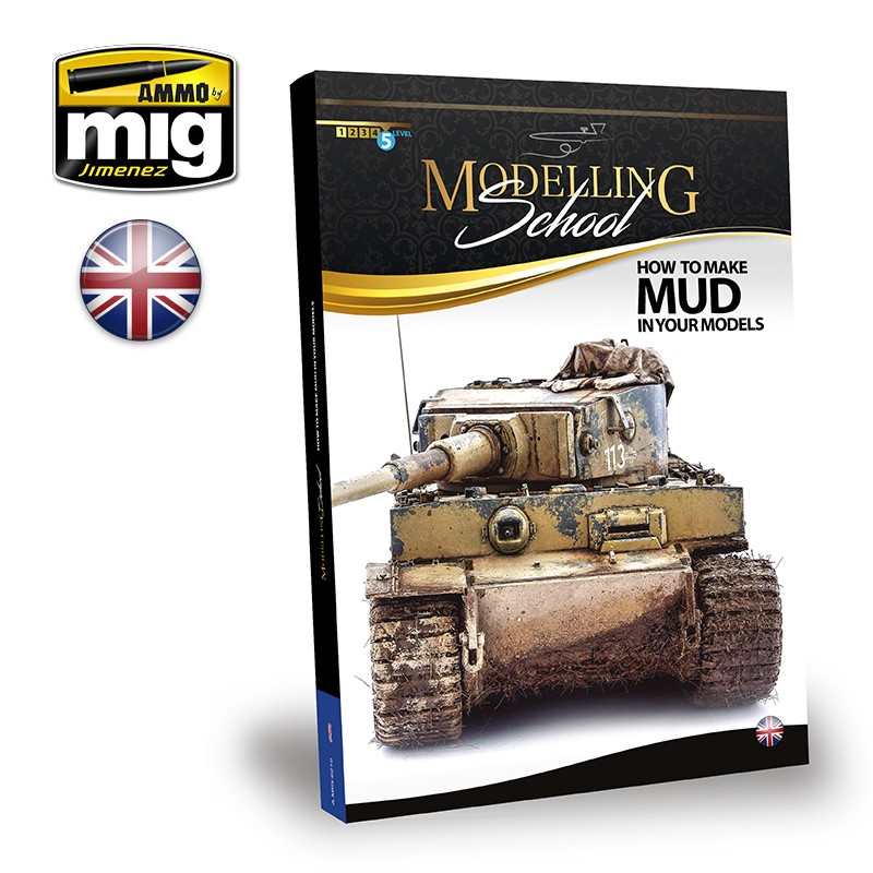 Ammo Mig Modelling School: How to Make Mud in Your Vehicles (English)