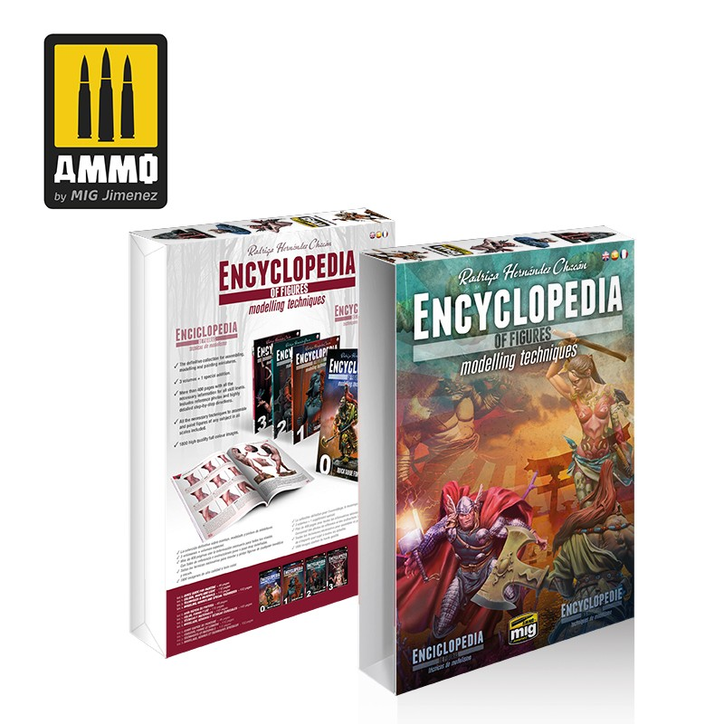 Ammo Mig Case for Encyclopedia of Figures Modelling Techniques (English)