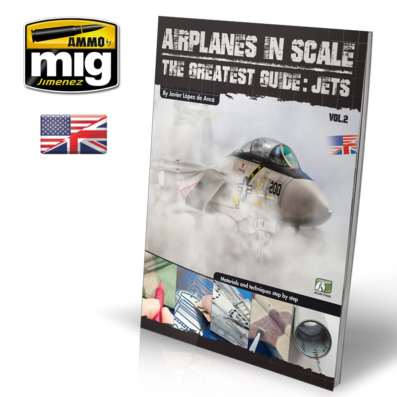 Ammo Mig Airplanes in Scale Vol. 2: Jets (English)