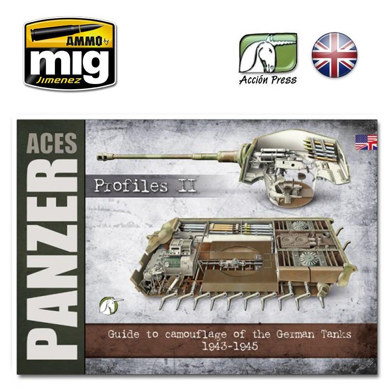 Ammo Mig Panzer Aces - Profiles Vol. 2 (English)