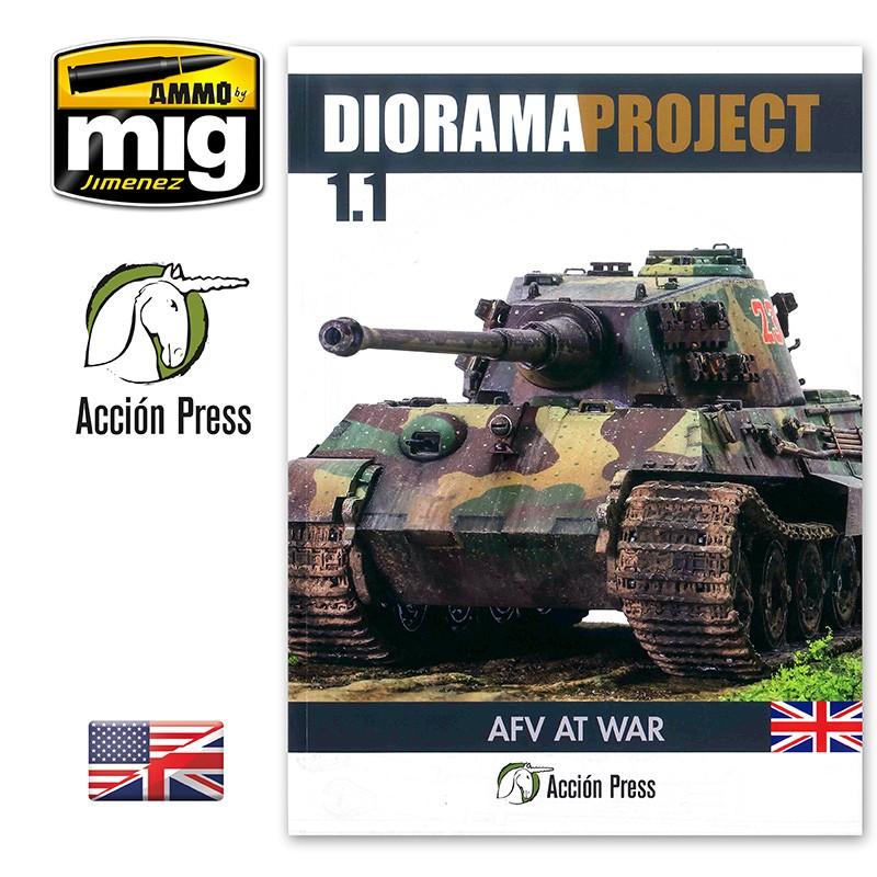 Ammo Mig Diorama Project 1.1 - AFV At War (English)