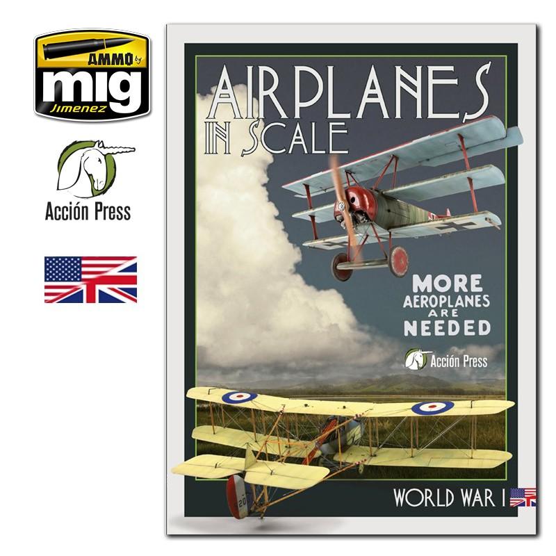 Ammo Mig Airplanes in Scale Vol. 3: World War I (English)