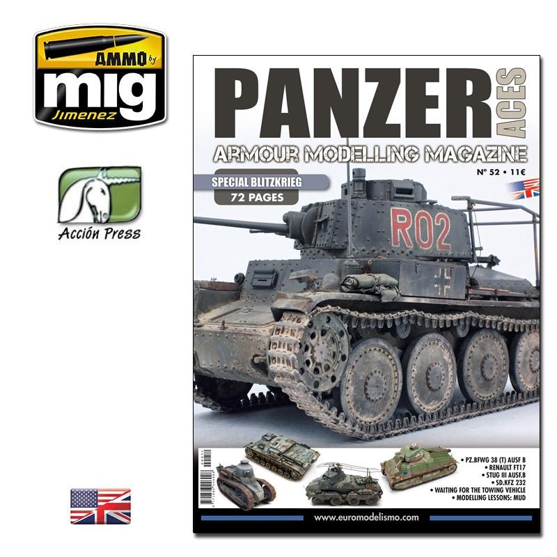 Ammo Mig Panzer Aces No 52: Special Blitzkrieg (English)