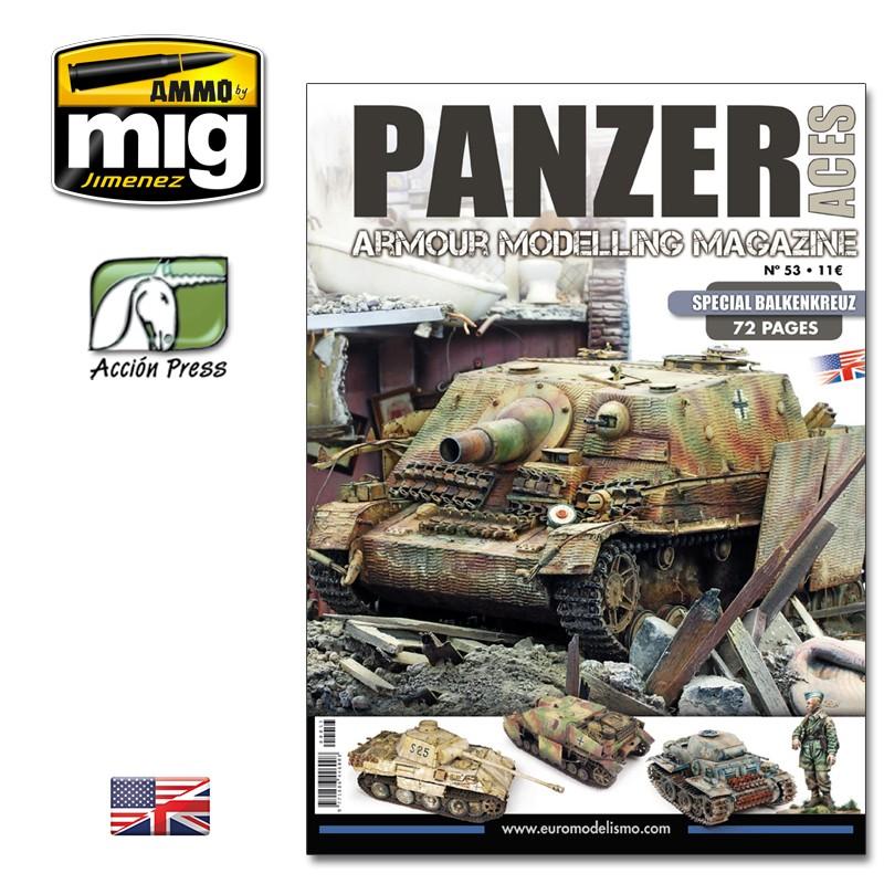 Ammo Mig Panzer Aces No 53: Special Balkenkreuz (English)