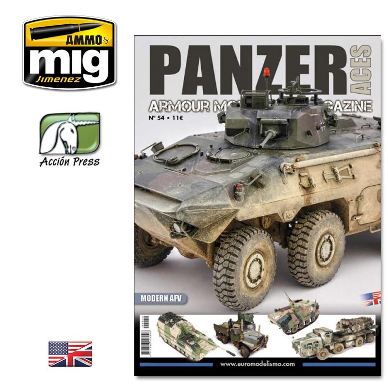 Ammo Mig Panzer Aces No 54: Modern AFV (English)