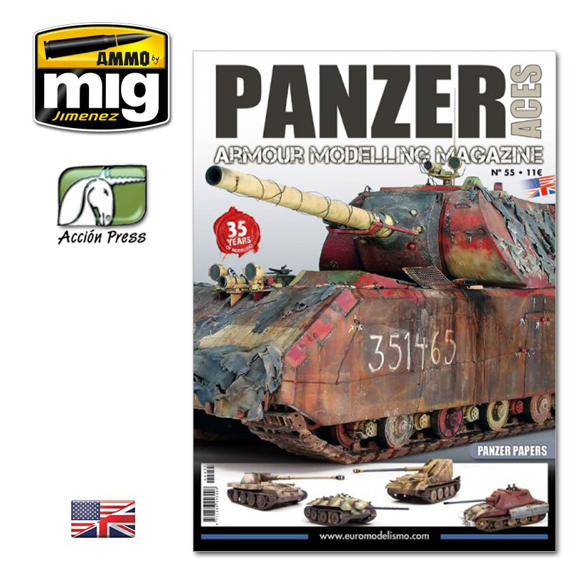 Ammo Mig Panzer Aces No 55: Panzer Papers (English)