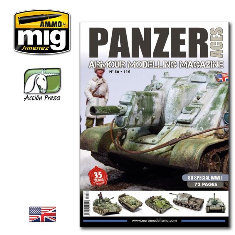 Ammo Mig Panzer Aces No 56: SU Special WWII (English)