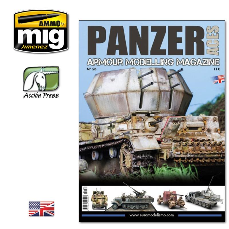 Ammo Mig Panzer Aces No 58 (English)