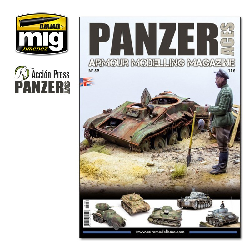 Ammo Mig Panzer Aces No 59 (English)