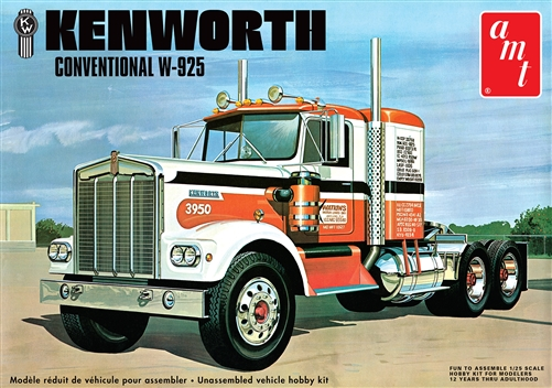AMT 1/25 Kenworth W925 Conventional
