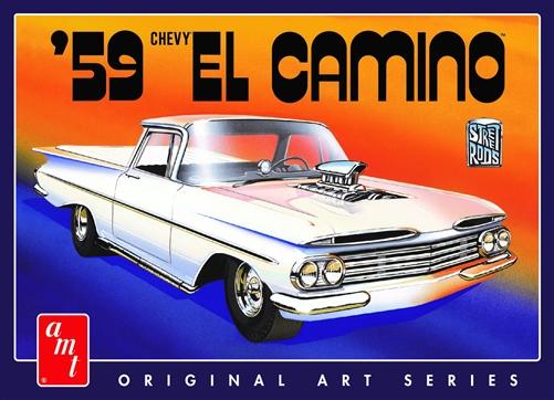 AMT 1/25 1959 Chevy El Camino (Original Art Series)