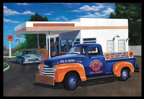 AMT 1/25 1950 Chevy Pickup (Union 76)