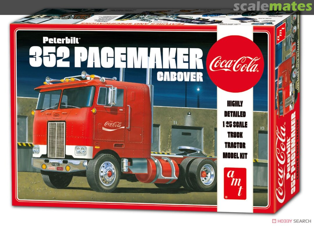 AMT Peterbilt 352 Pacemaker Cabover (Coca Cola)