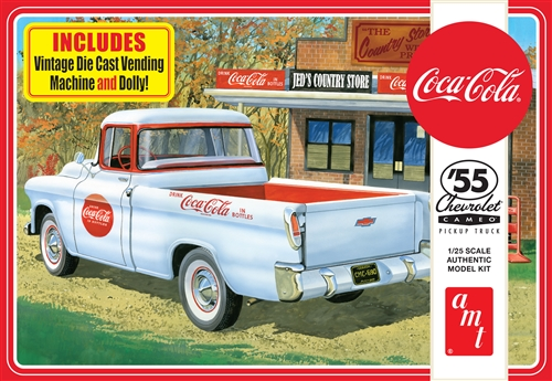 AMT 1/25 1955 Chevy Cameo Pickup (Coca-Cola)