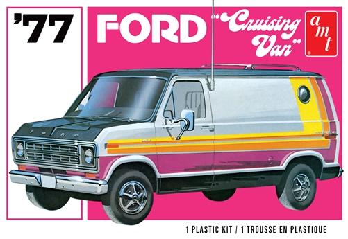 AMT 1/25 1977 Ford Cruising Van 2T