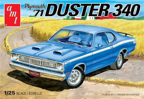 AMT 1/25 1971 Plymouth Duster 340 2T