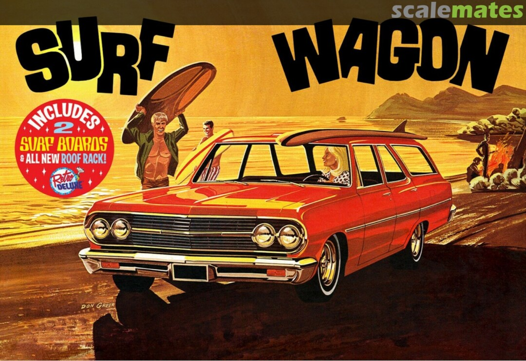 "AMT 1965 Chevelle ""Surf Wagon"""