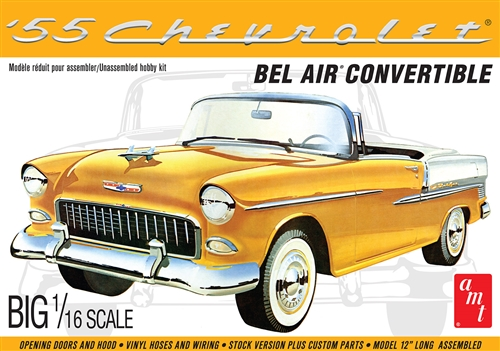 AMT 1955 Chevy Bel Air Convertible