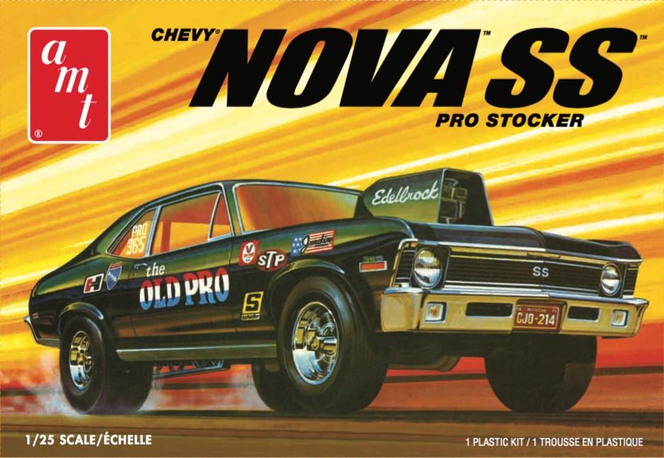 "AMT 1/25 1972 Chevy Nova SS ""Old Pro"" 2T"