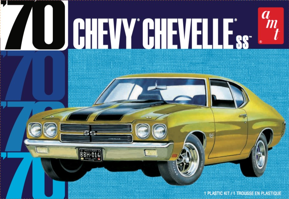 AMT 1/25 1970 Chevy Chevelle SS 2T