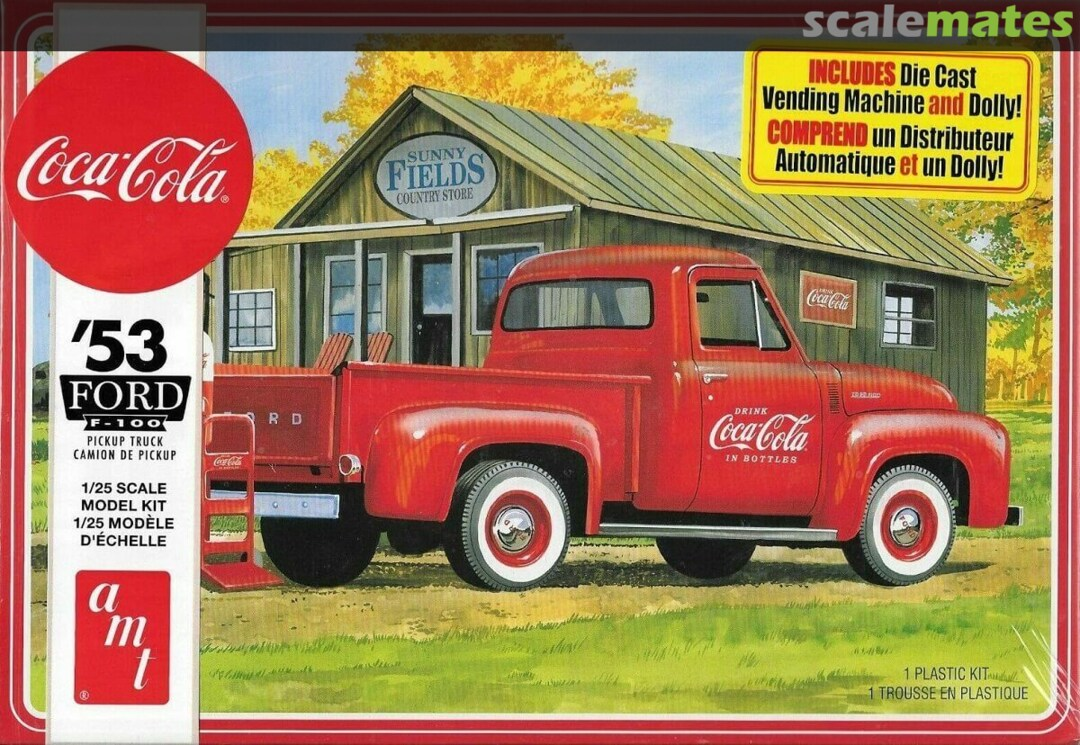 AMT 1953 Ford Pickup (Coca Cola)
