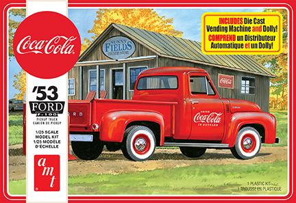 AMT 1/25 1953 Ford Pickup (Coca-Cola) 2T