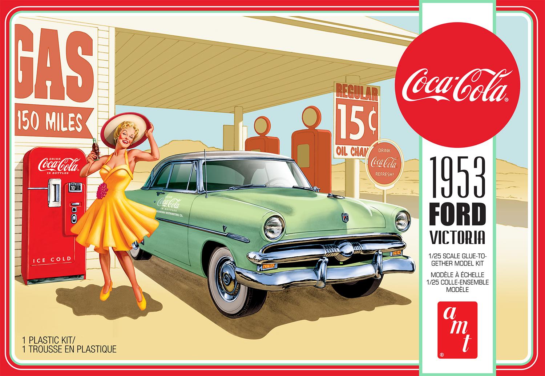 AMT 1/25 1953 Ford Victoria Hardtop with Coca-Cola Machine 2T