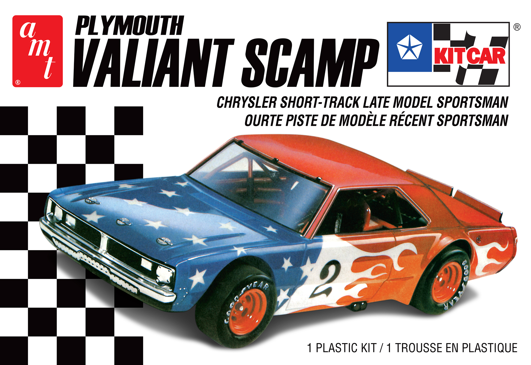 AMT 1/25 Plymouth Valiant Scamp Kit Car 2T