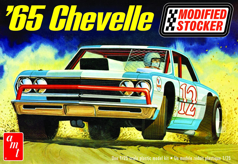AMT 1/25 1965 Chevelle Modified Stocker