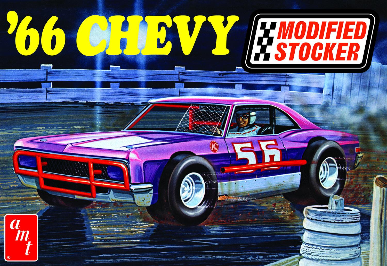AMT 1/25 1966 Chevy Impala Modified Stocker