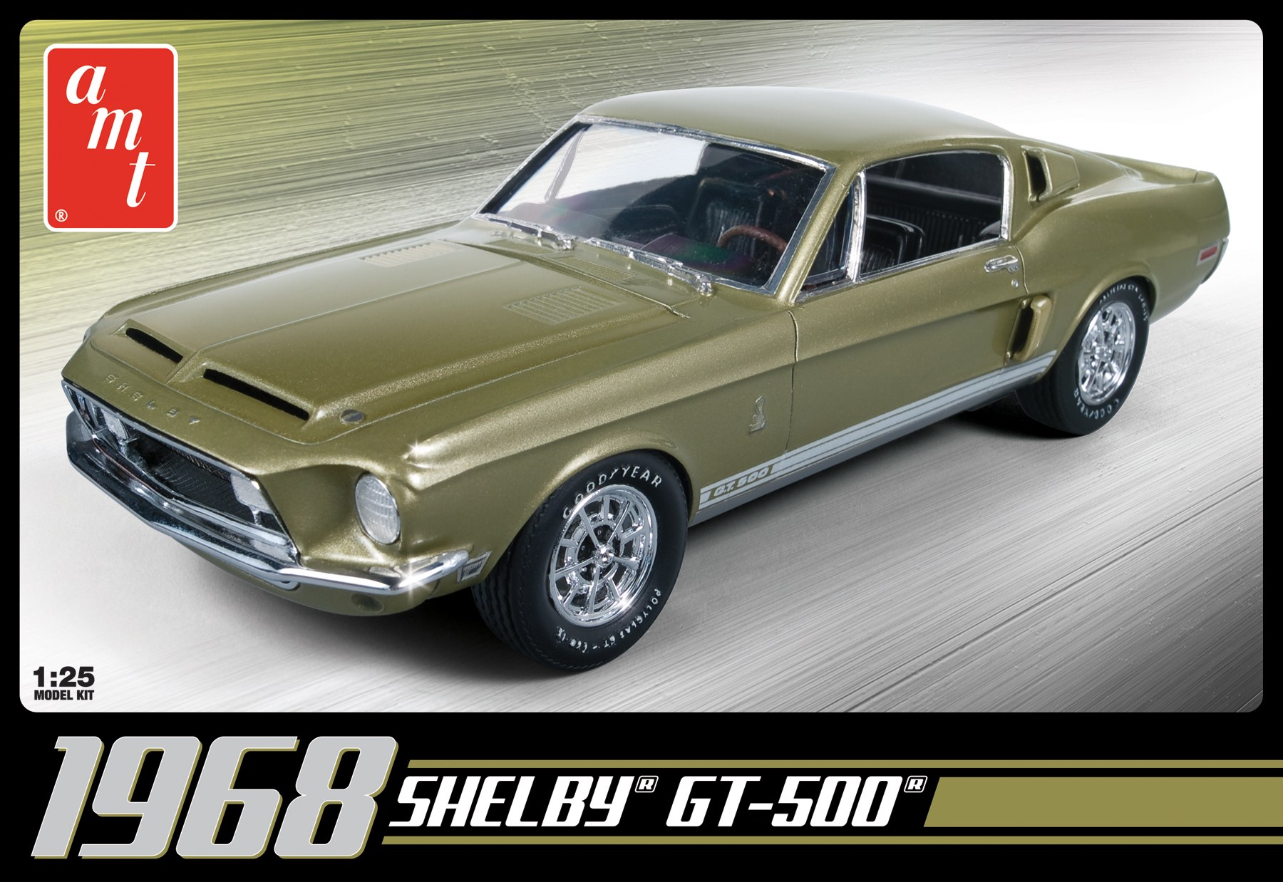 AMT 1/25 1968 Shelby GT500 2T