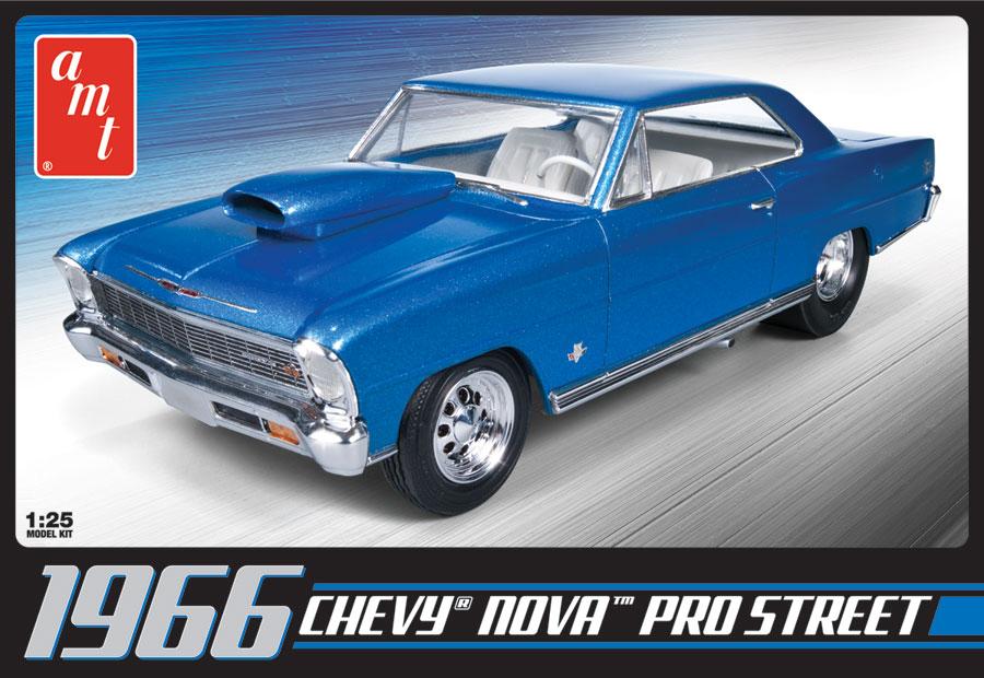 AMT 1/25 1966 Chevy Nova Pro Street 2T