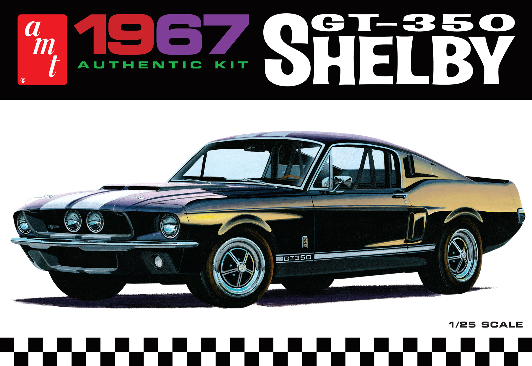 AMT 1/25 1967 Shelby GT350 - White