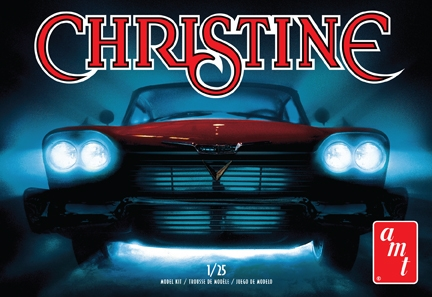 AMT 1/25 Christine 1958 Plymouth Belvedere (Red)